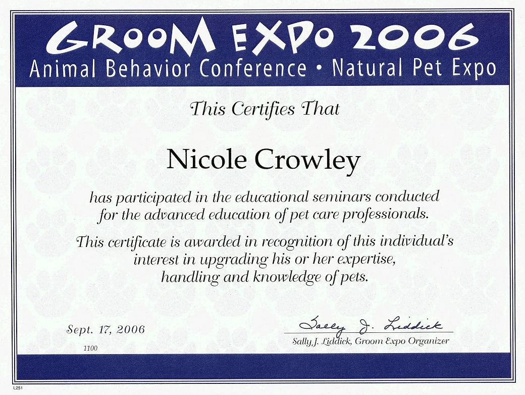 Four paws metropolitan professional pet care services american red cross pet cpr and first aid certification abka pet care technician certification animal behavior conference njvta annual conference 2009 xflitez Choice Image